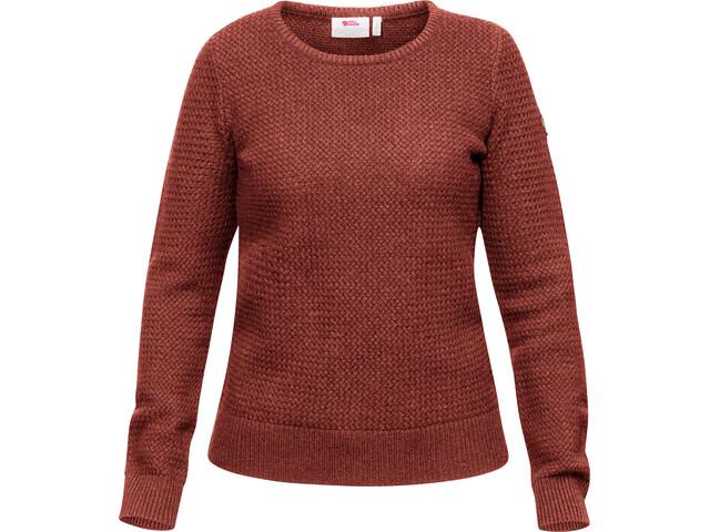 Fjällräven Övik Structure Sweater Damer, pink